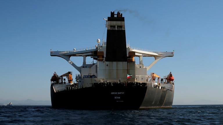 Adrian Darya 1 Iranian oil tanker