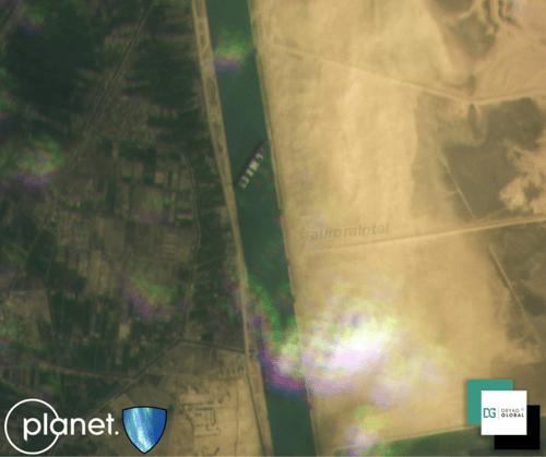 Aurora Intelligence Suez Canal