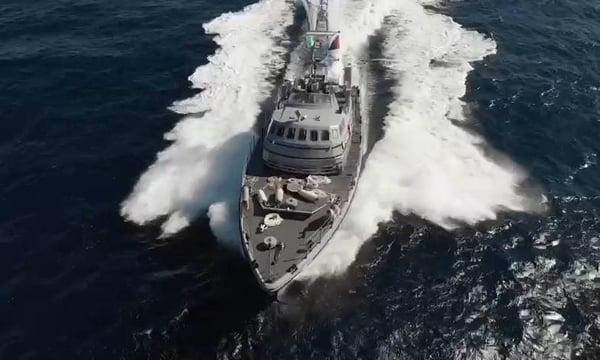 Protection Vessels International Bastion fast patrol vessel