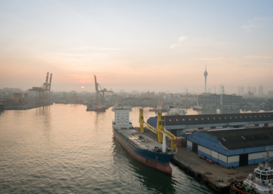 Port of Colombo Sri Lanka