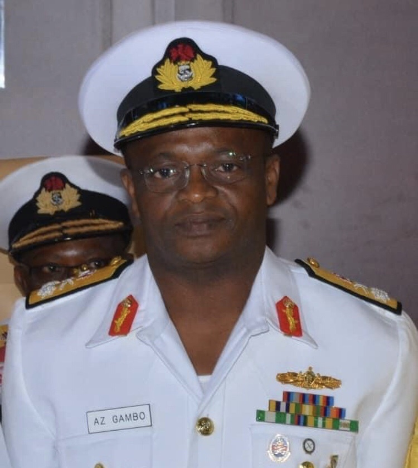 Chief of Naval Staff, Rear Admiral Zubairu Gambo