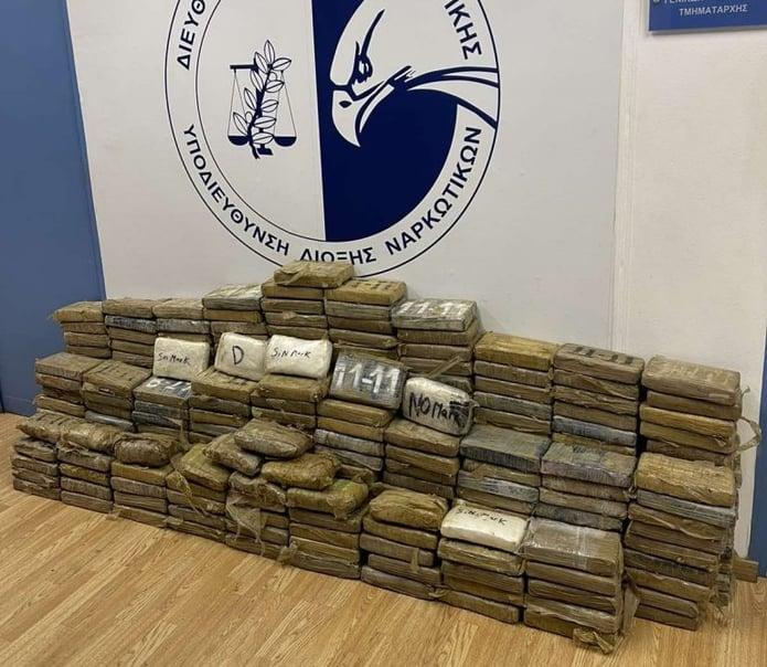 Cocaine Port of Piraeus