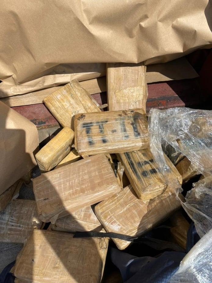 Cocaine in Port of Piraeus