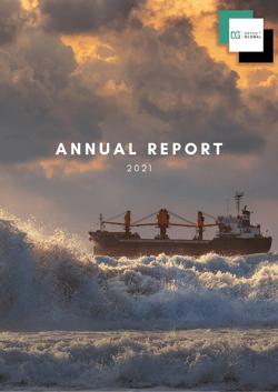 DG Annual report DRAFT 2021