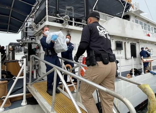 Drug Smuggling US Coast Guard