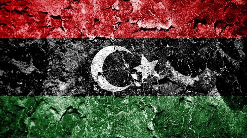Libya map broken small