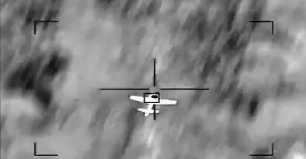 Saudi intercep drone Saudi coalition