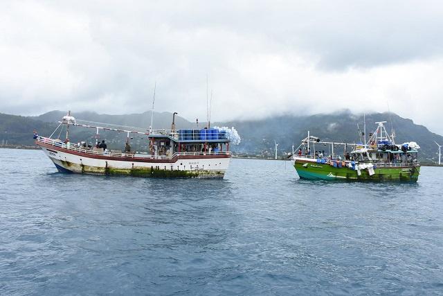 Sri Lankan vessels intercepted for illegal fishing
