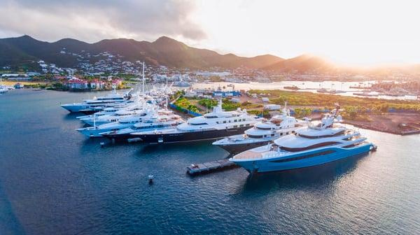 St. Maarten marina