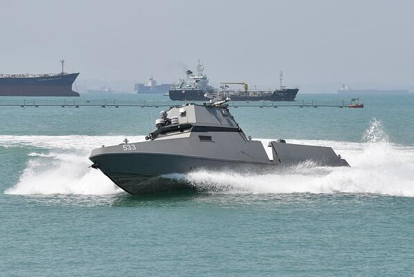 The Republic of Singapore Navys Maritime Security USV