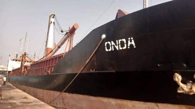 Togo-flagged MV Onda